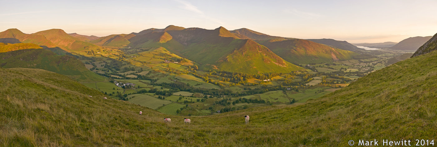 The Northern Fells From Hause Gate
