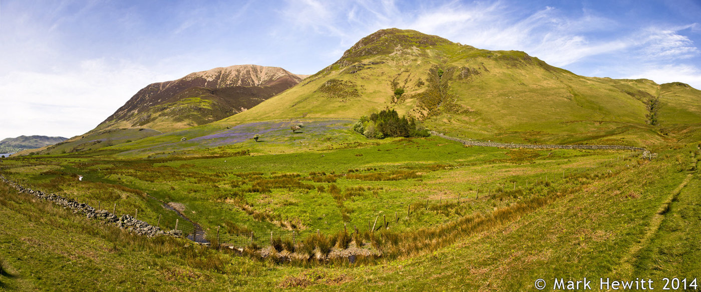 The Rannerdale Valley & Whiteless Pike