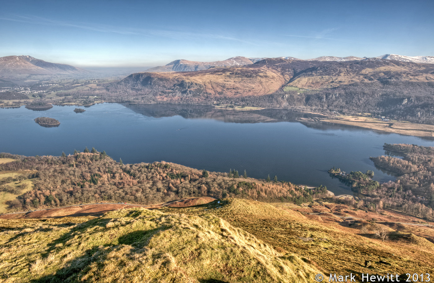 The View From Catbells Summit