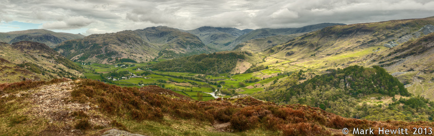 The View Of Borrowdale From Kings How