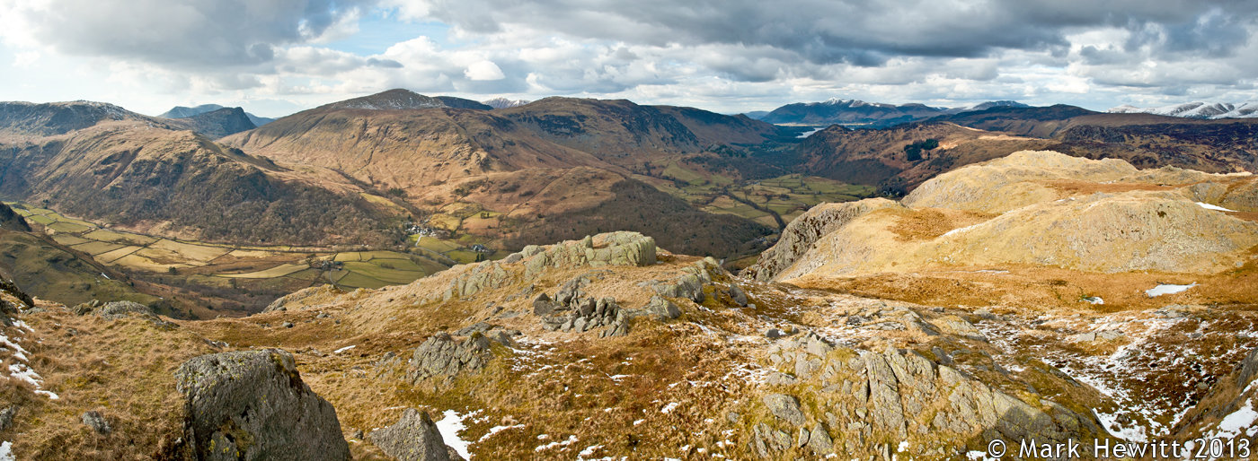 The View Of Borrowdale From Rosthwaite Fell
