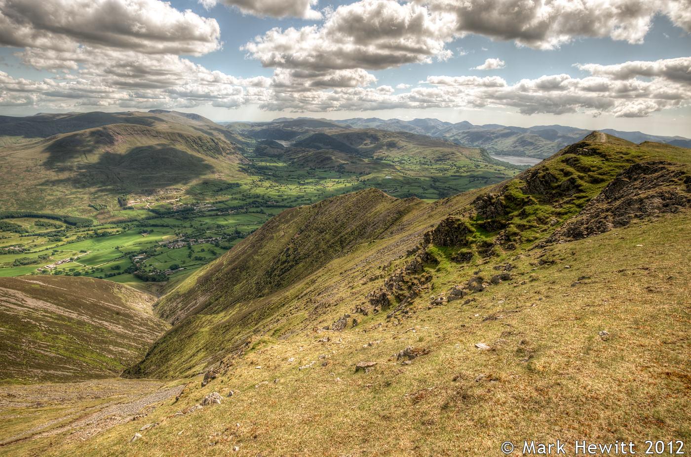 The View Overlooking Gategill Fell (Landscape)