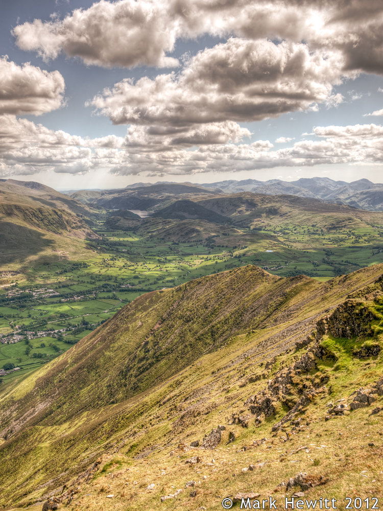 The View Overlooking Gategill Fell (Portrait)