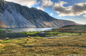The Wasdale Screes In Autumn