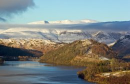 Thirlmere & Blencathra From Launchy Gill