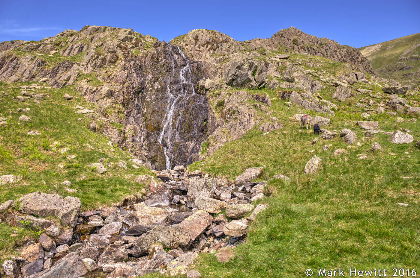 Tongue Gill Waterfall