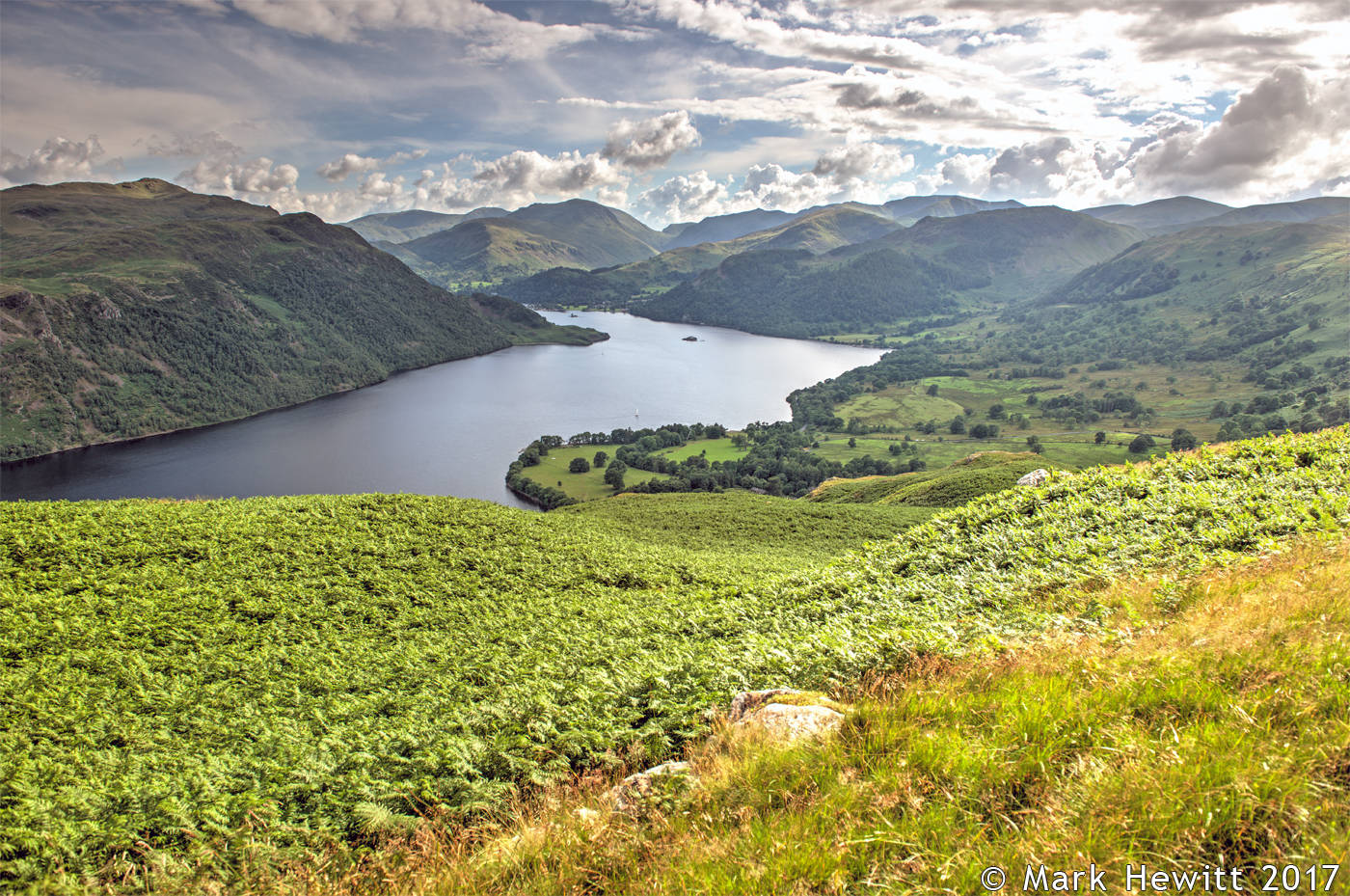 Ullswater From Gowbarrow Fell