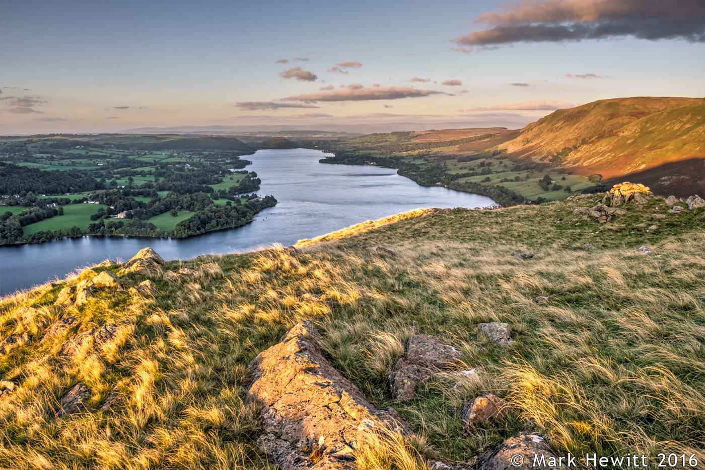 Ullswater & Penrith from Hallin Fell