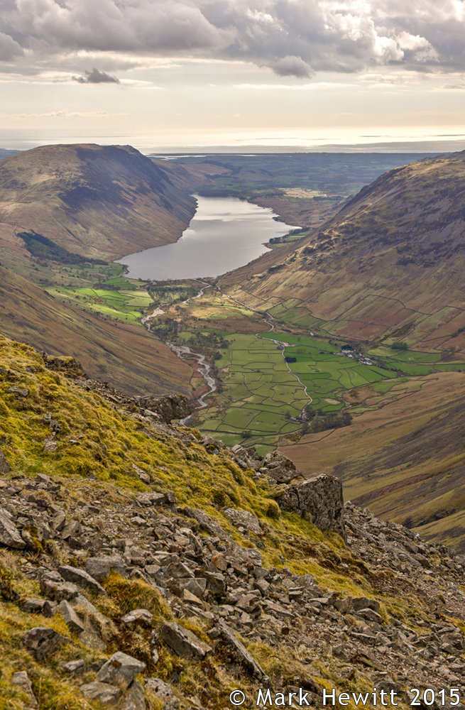 Wasdale Head & Wastwater From Great Gable