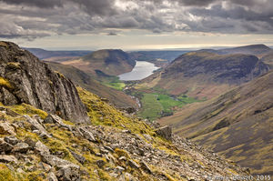 Wasdale & Yewbarrow From Great Gable