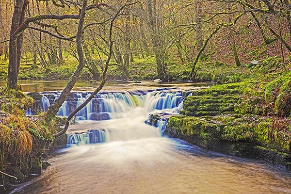 Waterfall River Nedd Fechan