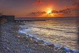 Sennen Cove At Sunset