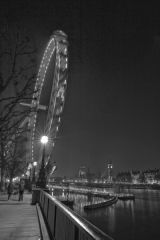 London Eye & Westminster From The Embankment