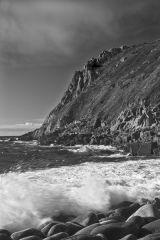 Porth Nanven Breaking Waves