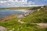 Sennen Cove From Cornish Coast Path