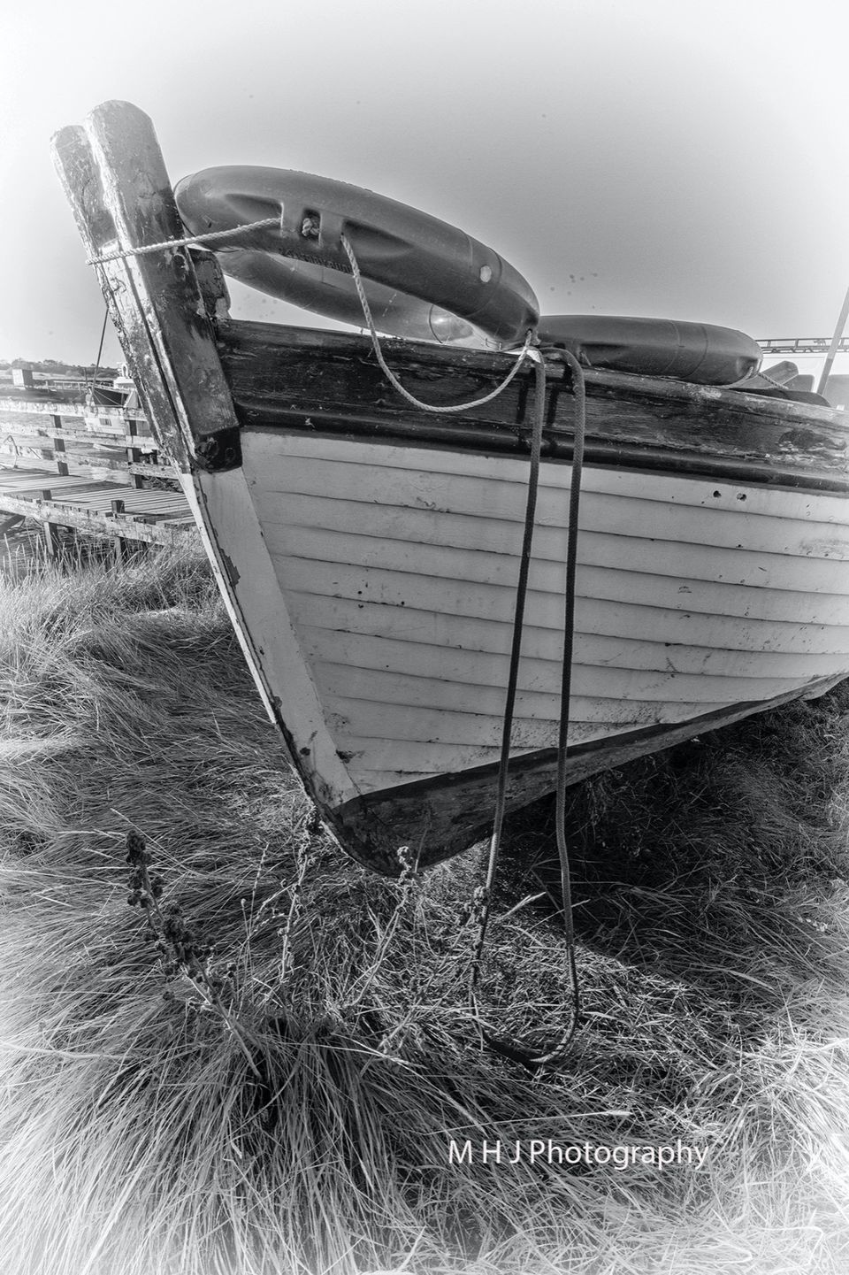 BW - Boat front