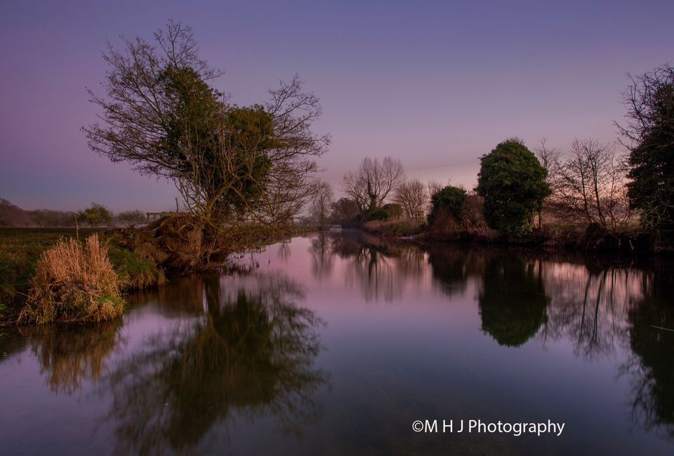 Dedham Early evening River Stour