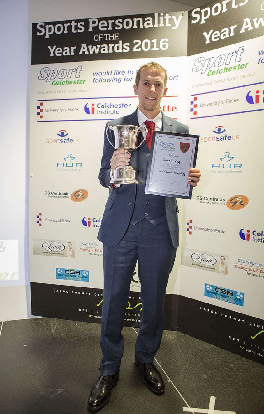 Colchester Sports Personality award 2016