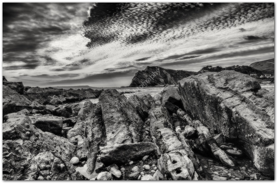 Rocks by the sea - Lulworth Cove