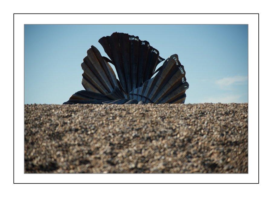 The Aldeburgh Seashell Sculpture
