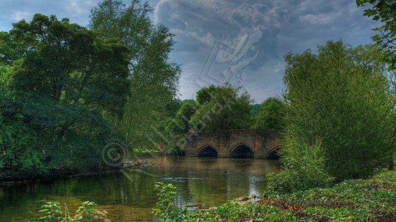 Bakewell Bridge over the river Wye