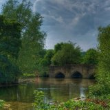 Bakewell Bridge over the river Wye