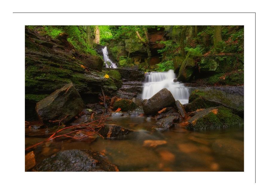 Bentley Brook Water Falls