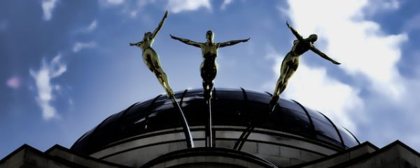The three daughters of Helios; Piccadilly, London