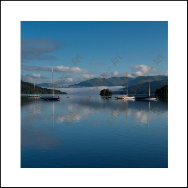 Early Morning over Windermere