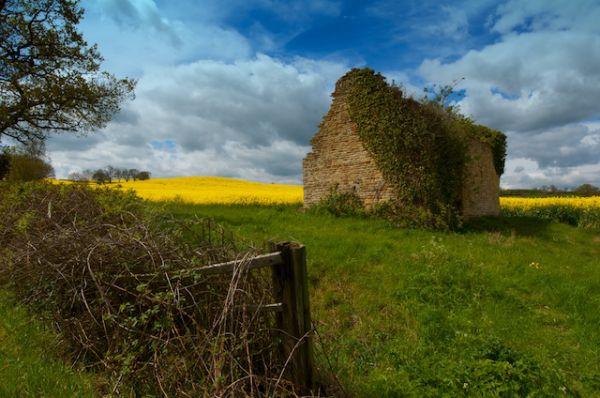 Derelict Stone Barn