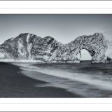 Durdle Door ~ Monochrome