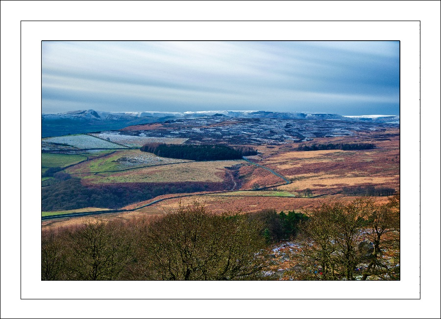 Hope Valley from above.....