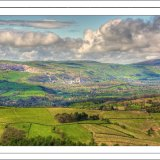 Across the Hope Valley from Mam Tor