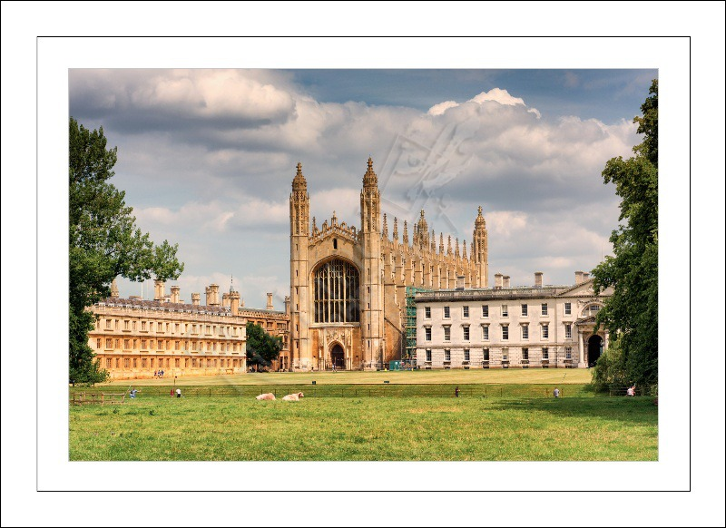 Kings College Chapel, Cambridge University, England.