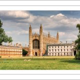Kings College Chapel, Cambridge University, England.