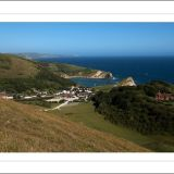 High over Lulworth Cove