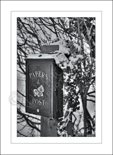 Winter Post and Papers