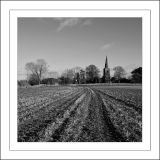 Preston Church in Monochrome