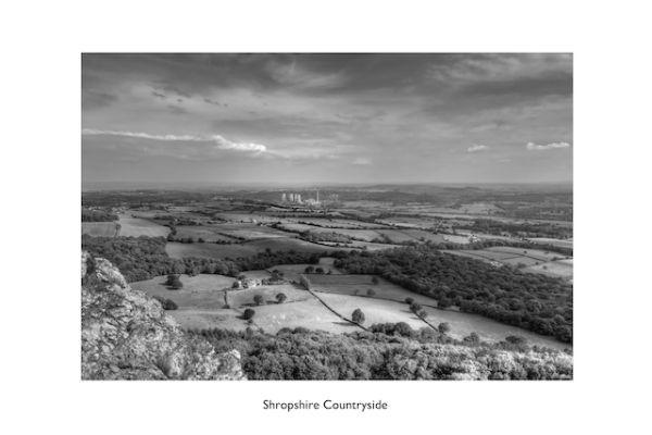 Towards Much Wenlock, Shropshire
