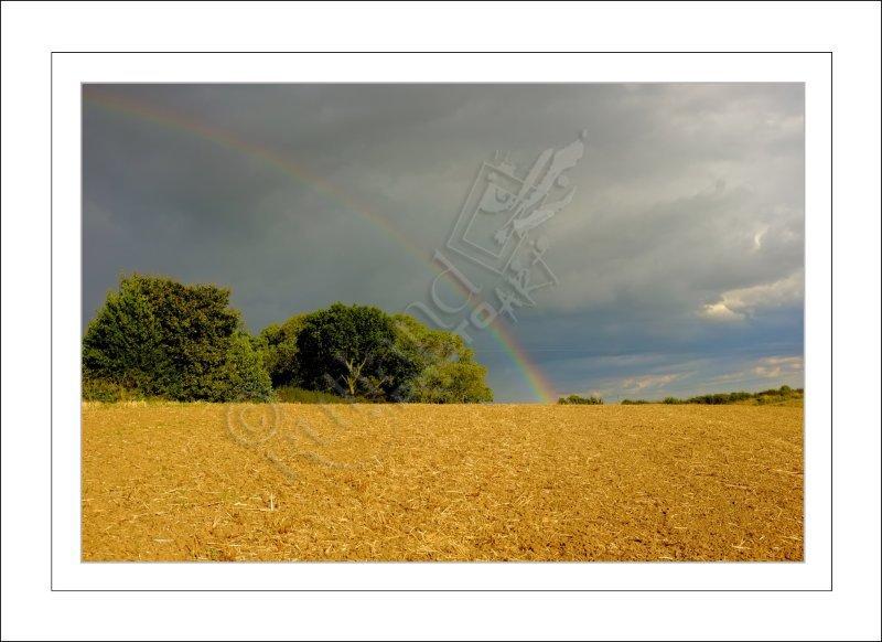 Storm over Ridlington