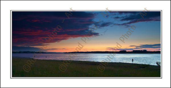 Sunset over Rutland Water