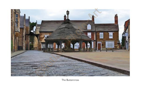 The Buttercross, Oakham, Rutland