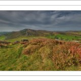View across The Roaches