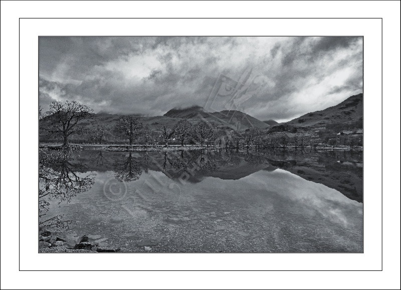 View over Buttermere Water