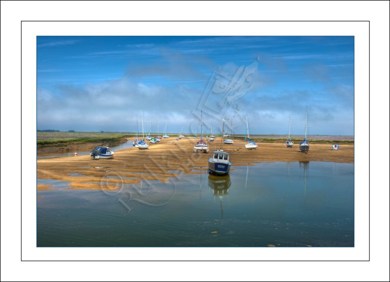 Over the harbour at Wells