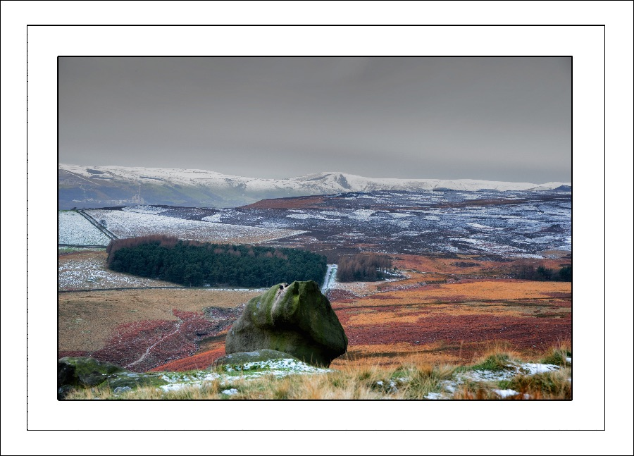 Wintery View from Stanage