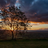 Sunset over the Severn Vale