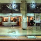 The Train Arriving at Platform 2 ....