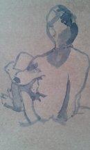Quick sketch Nadine