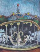 Paris Carousel 42x30cm